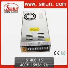 Fuente de alimentación de la transferencia de 400W 15VDC AC / DC con el ventilador de enfriamiento