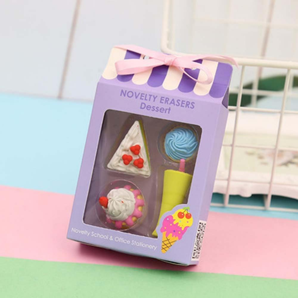 4 Packs Rubber Erasers 2