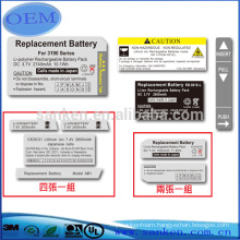 Dongguan Professinal Manufacturer OEM Rubber Label