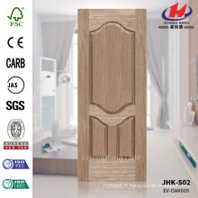 JHK-S02 Nouvelle conception, ligne de bois insolite, haute qualité, EV CHÊNE, placage, prix, fabrication, porte, peau