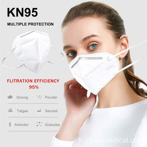 Masque de protection individuelle H1N1 anti-grippe Masque KN95