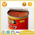 El perro de la exportación de la comida de perro puede tratar el alimento de perro conservado del sabor de la carne de vaca