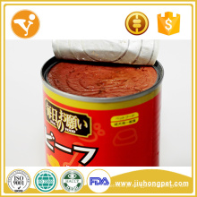 Alimentos para cães molhados Alimentos para cães naturais Alimentos para lata com sabor saudável de carne