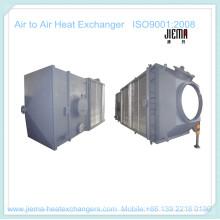 Intercambiador de calor de aire tipo placa para aire a aire como calentador de aire
