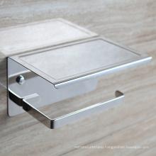 Silver stainless steel toilet paper holder/ Bathroom tissue holder
