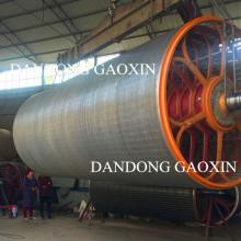 Molde del cilindro de la máquina de papel
