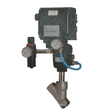 angle seat valves' accessories  positioner