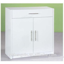 Home or Office White Wooden File Cabinet for Sale