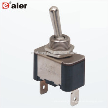 KN3A-101P 12MM 15A ON OFF 2 Position 2 Pin Toggle Switch SPST