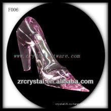 К9 Розовый Кристалл Ручной Скульптурные Высокие Каблуки