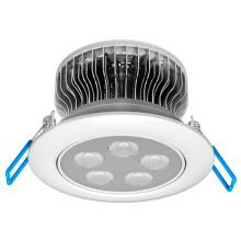 Lámpara de techo de alta potencia 5W LED Downlight