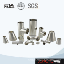 Stainless Steel Food Grade Welded Tube Pipe Fitting (JN-FT1005)