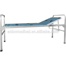 Respaldo ajustable manual material de aleación de aluminio plegable cama de hospital