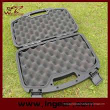 Caso impermeable militar táctico 32cm herramientas de plástico duro casos arma maleta