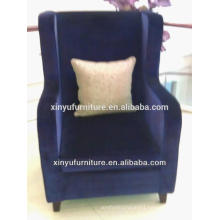 fabric wooden chaise lounge for living room used XY2505