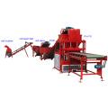 FL 4-10 ladrillo de entrecruzamiento de arcilla de suelo de alto rendimiento que forma la máquina en Nepal