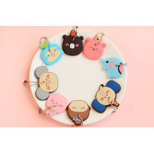 2014 New Design Silicone Keyring for Gifts