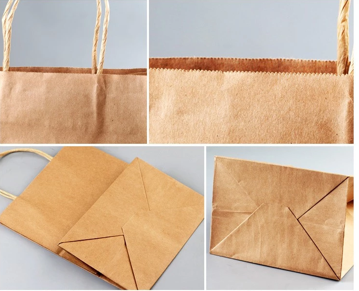 kraft paper carried bags