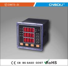 Dm72-3I LED Medidor de corriente trifásico digital