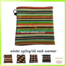 Beanie fashion wholesale polar fleece knitted neck warmer