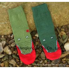 Lady Mode gedruckt Socken