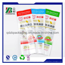Back Heat Sealed Colorful Plastic Popsicle Bag