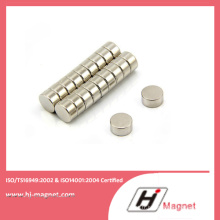 Aimant de NdFeB de disque N50 permanente avec le procédé de fabrication de haute qualité