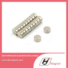 Permanent N50 Disc NdFeB Magnet with High Quality Manufacturing Process