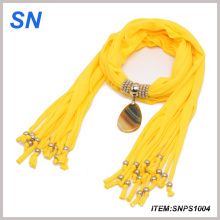 Christmas Gift, Beautiful Pendant Necklace Jewelry Scarf (SNPS1004)