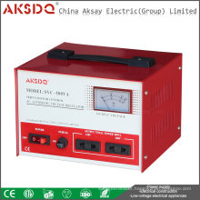 Full Copper Home single phase 50HZ/60HZ 220v SVC 0.5KVA~30KVA Servo Refrigerator Automatic Voltage Stabilizer manufacture
