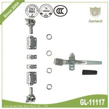 Standard Shipping Container Door Locking Gear