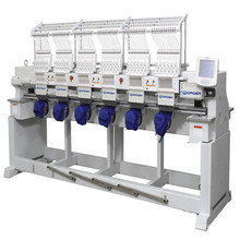 ORDER Cap Embroidery Machine for 6 head Industrial Textile Embroidery machine prices