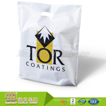 Factory Direct Sale Custom Printing High Quality Plastic Shopping Bag With Diecut Handle