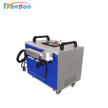 Máquina de limpieza láser de fibra Transon para óxido de metal