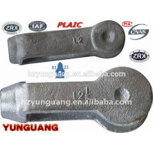 2015 NEW heavy load link fitting hot-dip galvanizing forged steel Clevis power outdoor construction hardware fitting