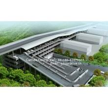 Estructura de estacionamiento de acero / Estructura de acero para estacionamiento de estacionamiento de coche / Prefab Estructura de estacionamiento de acero