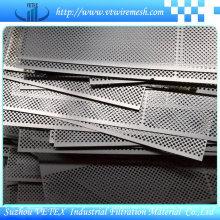 Treillis métallique perforé en acier inoxydable à réduction de bruit