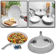 Amazon Vendor 5PC Ceramic Coated Frying Pan Set Nonstick