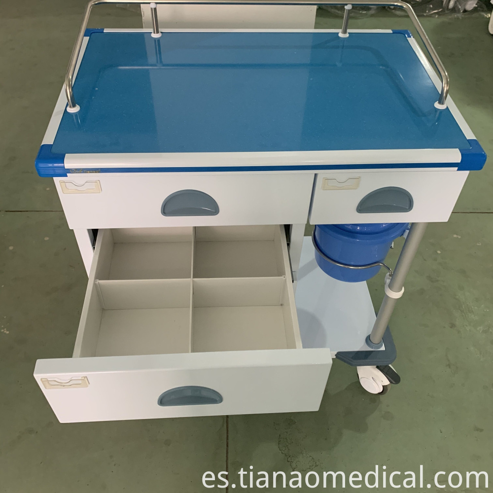 Hospital Convenient Practical Treatment Trolley