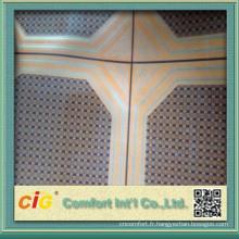 Dans le temps conception utile décoratif prix compétitif de revêtement de sol en vinyle pvc