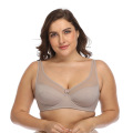 Auf Lager Plus Size Full Cup Mesh Bügel-BH