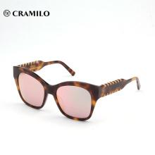 compra a granel de China raya color verano briller gafas de sol