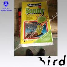 Accesorios de la jaula de pájaros mascotas grava