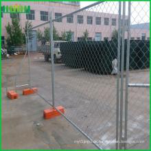 Vorübergehender Barrikadenzaun
