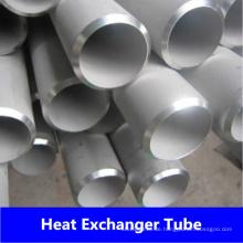 China Material 316L Edelstahl geschweißte Rohr / Rohr für Wärmetauscher