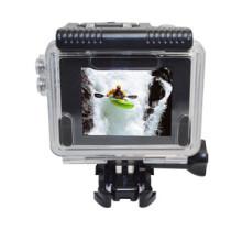 Hdking V2 panorâmica 360 graus 4k WiFi ação impermeável câmera do esporte