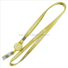 Impression de cordons en nylon avec bobine de badge