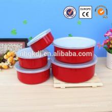 tazón de fuente del esmalte al por mayor material amistoso tamaño pequeño