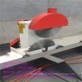 Desplazamiento mesa Sierra cortadora de madera con Sierra Circular doble