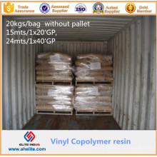 Copolímero do cloro do vinil e do éter Isobutyl MP45 CAS 25154-85-2 do vinil para a pasta da tinta de impressão do Gravure